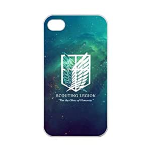 """iPhone 4,4S Attack on Titan Dual Wing Scouting Legion""""For the Glory of Hummanty"""