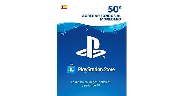 TARJETA PSN CARD 50€ | Código de descarga PSN - Cuenta ...