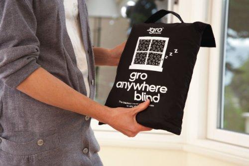 GRO Anywhere Blind (Best Blackout Blinds Uk)