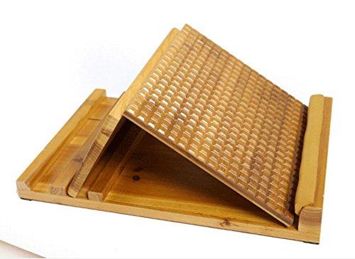 Verstellbare stretchboard//dehnbrett aus tanneholz,wade und achillessehne,plantarfasziitis schr/ägbrett mit akupressurmassage 3 winkel