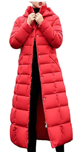 Parka 5 Faux Fur Women's Jacket Warm TTYLLMAO Down Coat Puffer Coat Trim Thicken Hood y4cWPOZ1W
