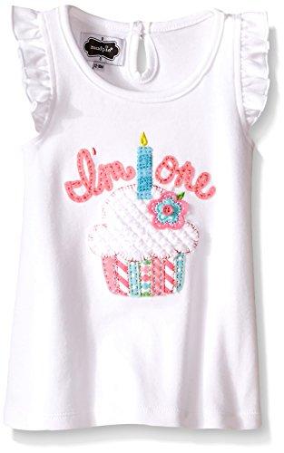 Mud Pie Baby Girl's Birthday Top ,  Multi,  12-18 Months (Mud Pie Im One compare prices)