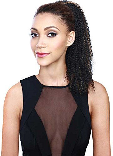 Speedy Updo Drawstring Ponytail - Bohemian Curl Color 1B
