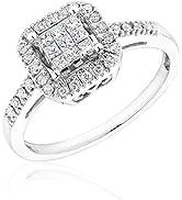 REEDS White Gold Diamond Ring 1/3ctw - Size 6.5
