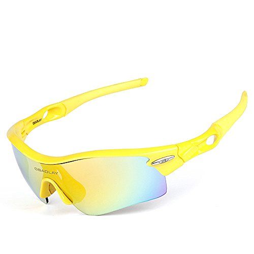 de Sol Yellow UV400 Hombres Glasses Exteriores 1 Sun protección Yellow para WEATLY Gafas Clarity Color 1 para de polarizadas Lentes 1 01 qEwUxgn5