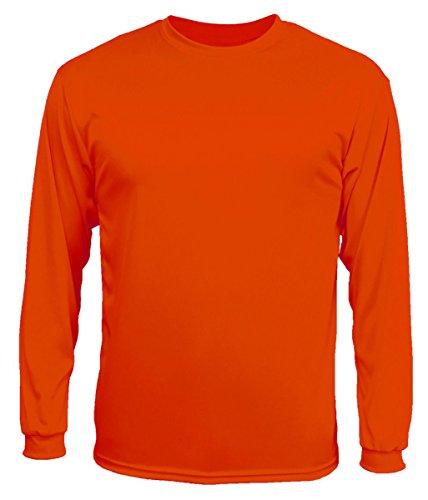 C2 Sport - Long Sleeve Performance T-Shirt. 5104 - Burnt Orange - - Burnt Orange Shirt Long T Sleeve