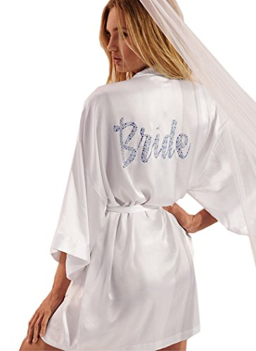 2019 factory price outlet for sale professional website Victoria's Secret White Satin Bridal Robe
