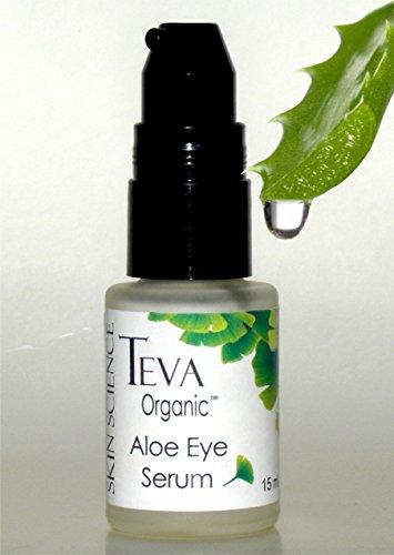 Teva Organic Best Aloe Firming Eye Serum For Day