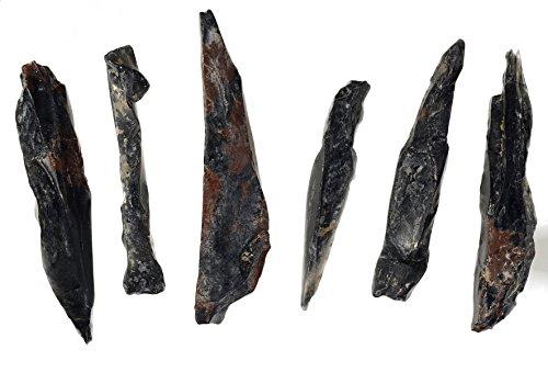 Obsidian Needles Natural Genuine Volcanic Davis Creek (6)