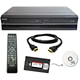 Toshiba VHS to DVD Recorder VCR Combo VHS Tape Transfer Machine w/ Remote, HDMI