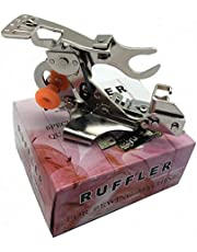 FBSHICUNG Ruffler Sewing Machine Presser Foot(#55705) for Singer Juki Brother Low Shank Sewing Machine