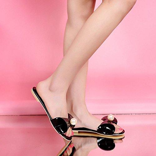 Femmes AicciAizzi Mules Black Plates Sandales 6wqASqdY