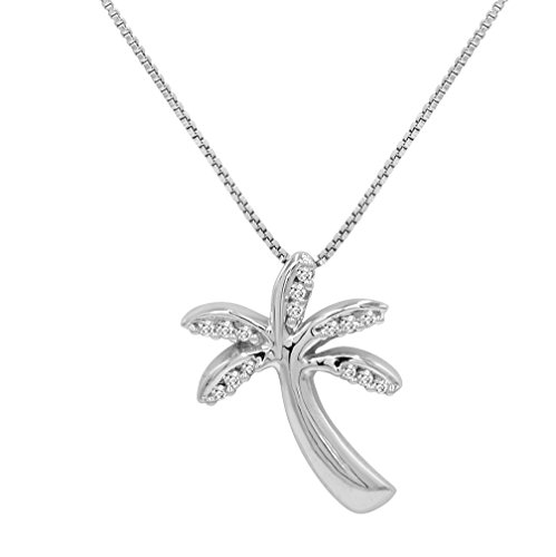 ndant-Necklace in Sterling Silver on an 18 inch Chain ()