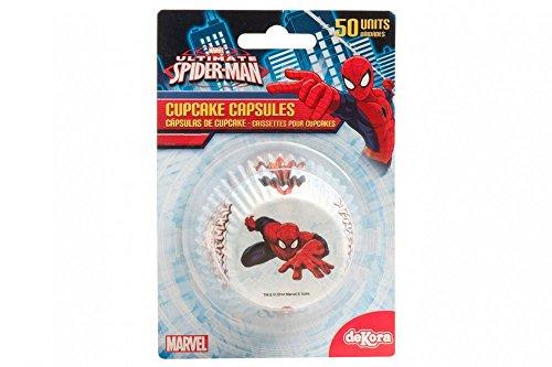 Spiderman Cupcake Cases - 50 per -