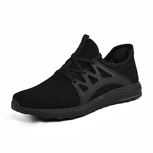 Shoes Shoes Gym Womens Black Mesh Breathable Casual Ultra Walking Mxson Lightweight EUxdzqE0