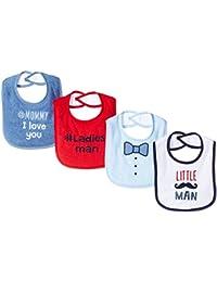 Unisex Baby Baby Drooler Bib, 4 Pack