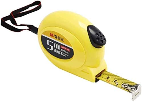 JTWJ 3M / 5M / 7.5M Length Of The Tape From Stop Standard Steel Ruler (Size : 5M*19MM)