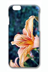 Beautiful Lily Slim Hard Cover for iPhone 6 Case (4.7 inch) PC 3D