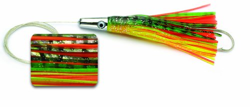 Williamson Wahoo Catcher Rigged 6 Fishing lure (Bleeding Dorado, Size- 6) (Fishing Lures Dorado)