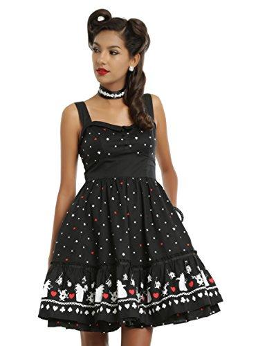 Disney Alice In Wonderland Red Queen Retro Dress (Red Alice In Wonderland Dress)
