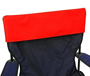 Funda para silla plegable–5unidades, rosso