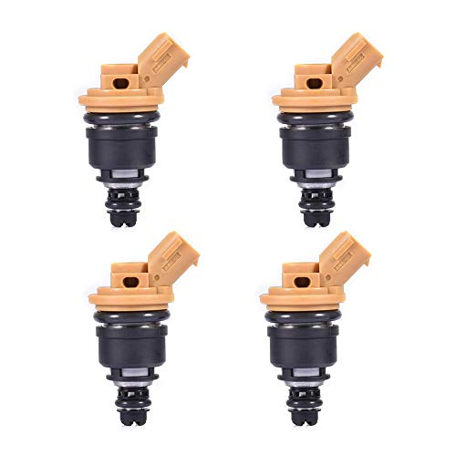 (Catinbow 16600-AA170 Engine Fuel Injector kit 10933-550-4N Set of 4 for Subaru Sti WRX GC8 550cc)