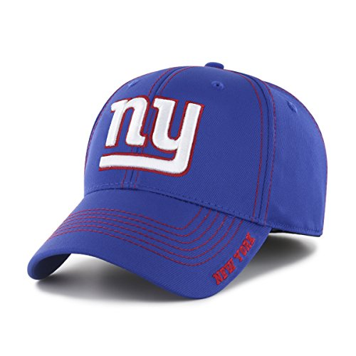 NFL New York Giants Adult Start Line Ots Center Stretch Fit Hat, Large/X-Large, Royal