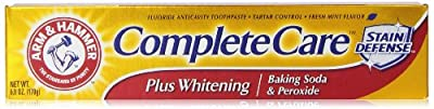 Arm & Hammer Complete Care Plus Whitening Toothpaste, 6.0 Oz from Arm & Hammer