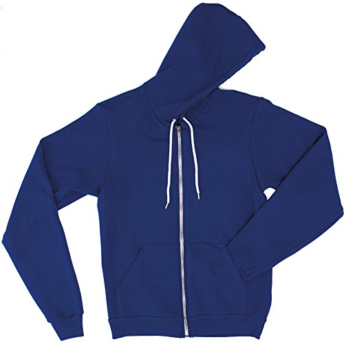 Apparel Mens Hoodie Polycotton Unisex American Zip Fleece Flex Lapis UqwdxxFH