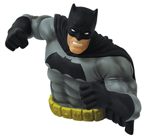 [Monogram The Dark Knight Returns: Batman Bust Bank (Black Version)] (Frank Miller Batman Costume)