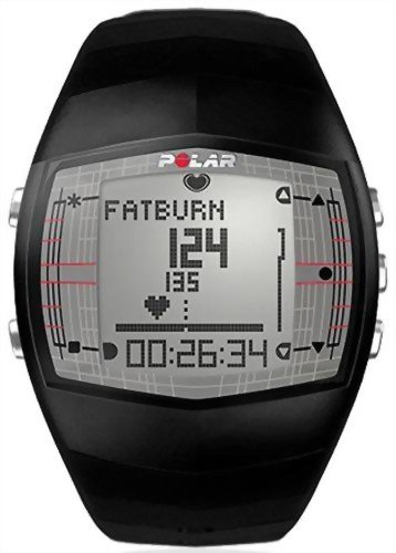 Polar FT40 Women's Heart Rate Monitor Watch (Black) (Polar Ft 40 Battery)