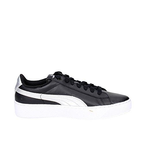 02 argento Puma 365629 Iridescent Sneakers Nero Scarpe Basse Platform Vikky Donna xvXaZFqwv