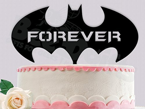 Amazon.com: Batman Forever Inspired Wedding Cake Topper: Handmade