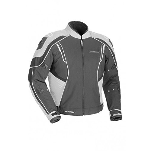 Fieldsheer Shadow Jacket Gun/Sil Lrg - Fieldsheer Street Bike