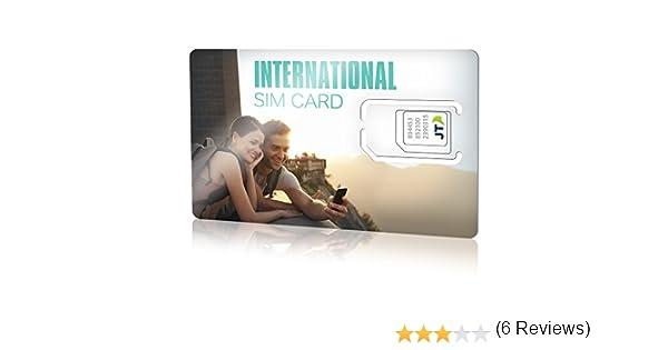 ekit-Tarjeta SIM Internacional con €8,00 crédito para Europa ...