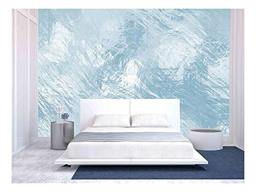 - wall26 - Seamless Ice Texture, Computer Graphic, Big Collection - Removable Wall Mural | Self-Adhesive Large Wallpaper - 100x144 inches