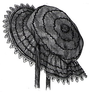 1894 Oil-Silk Bathing Cap Pattern