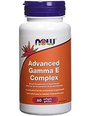 NOW Gamma E Complex Softgels, (Tocopherols/Tocotrienols), 60 Count