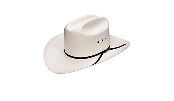 9ce41c2be45 Stetson Resistol Mens 10X Cattleman Long Oval Cowboy Hat 71 2 Natural at  Amazon Men s Clothing store