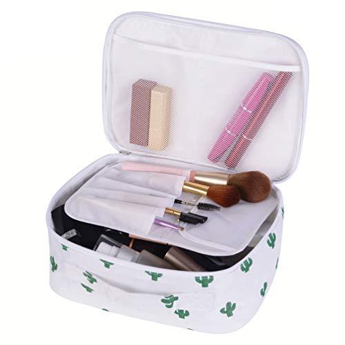 Travel Makeup Bag Cactus Makeup Brush Organizer Bag For Women