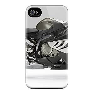 Protective Tpu Case With Fashion Design For Iphone 5/5s (bmw S 1000 Rr Bike)