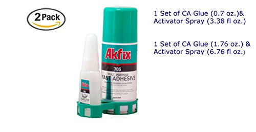 akfix-705-fast-adhesive-ca-glue-176-oz-and-activator-676-fl-oz-clear-super-glue-adhesive-and-acceler