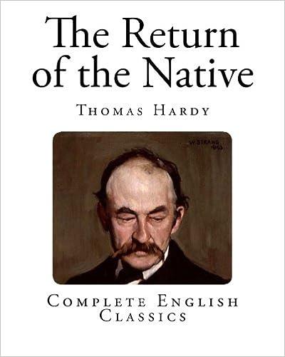 The Return Of The Native Pdf