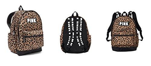 Victoria's Secret PINK New Campus Backpack (Leopard Print) ()
