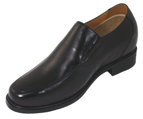 Toto - F2705 - 3,8 Inches Taller - Height Increasing Elevator Shoes (black Dress Shoes)