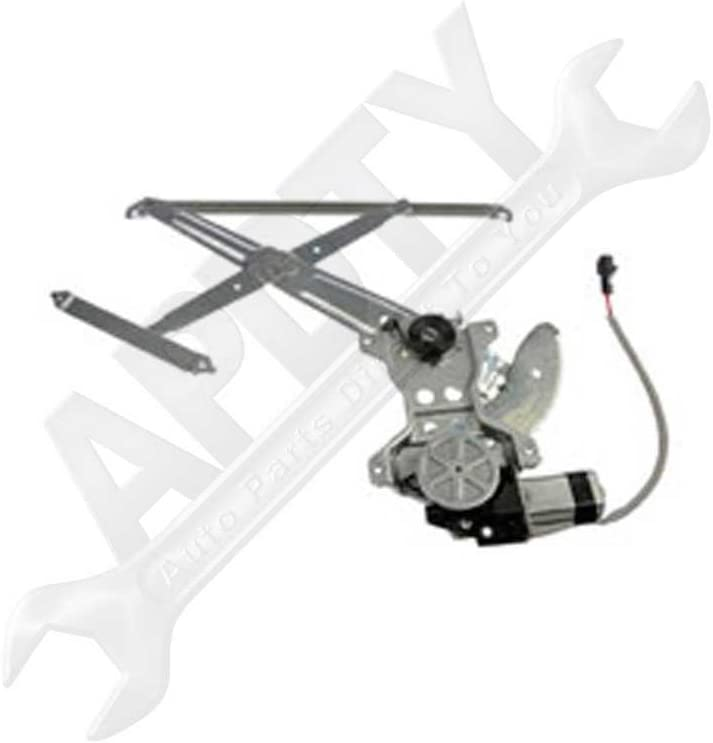 698010C020 857100C060 751-507 125-58887R 617-58815R 11A564 New Front Passenger Side Right RH Power Window Regulator W//Motor Replacement For Toyota Tundra 2005 2006