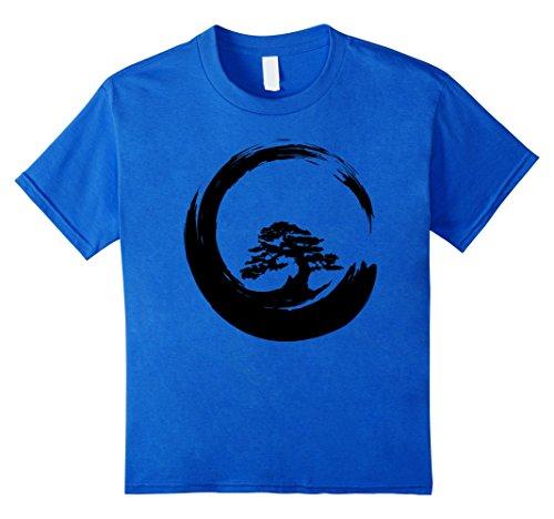 Enso Circle Bonsai Tree T shirt - Bonsai Tshirt