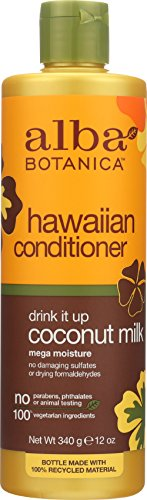 (Alba Botanica Hawaiian Coconut Milk Conditioner, 12 oz)