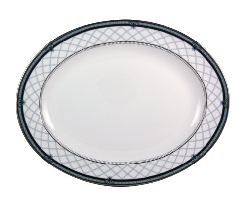 Royal Doulton Countess 13-1/2-inch Oval Platter (Doulton Royal China Bone Platter)