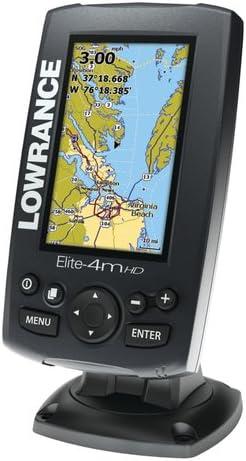 Lowrance 000-11293-002 Marine Navigation System Elite-4M HD ...